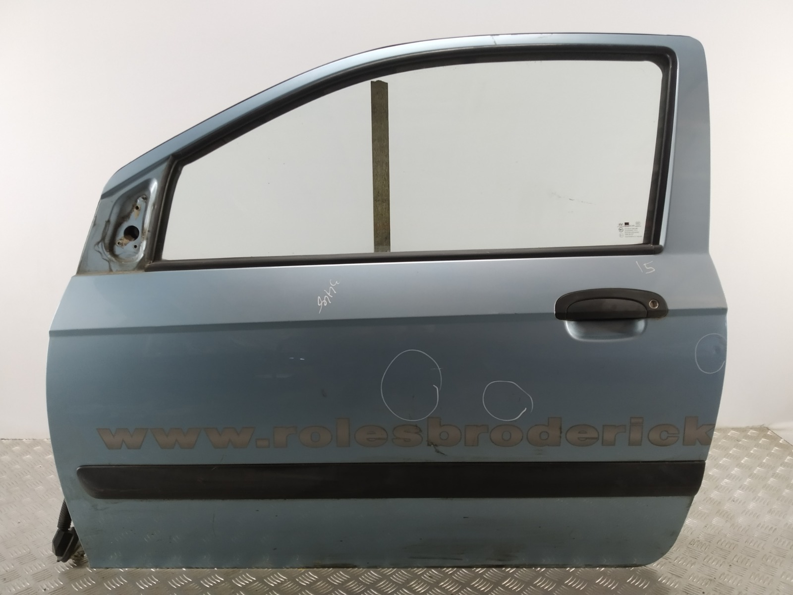 Дверь передняя левая Hyundai Getz 1.4 I 2007 (б/у)
