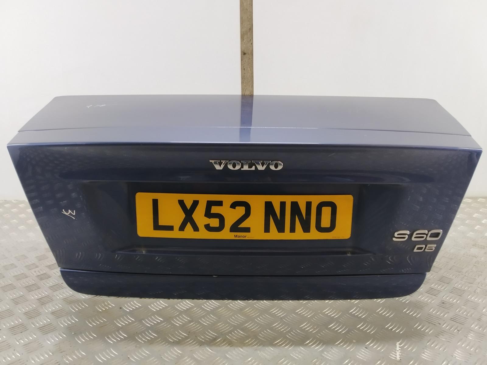 Крышка багажника (дверь 3-5) Volvo S60 2.4 D5 2002 (б/у)