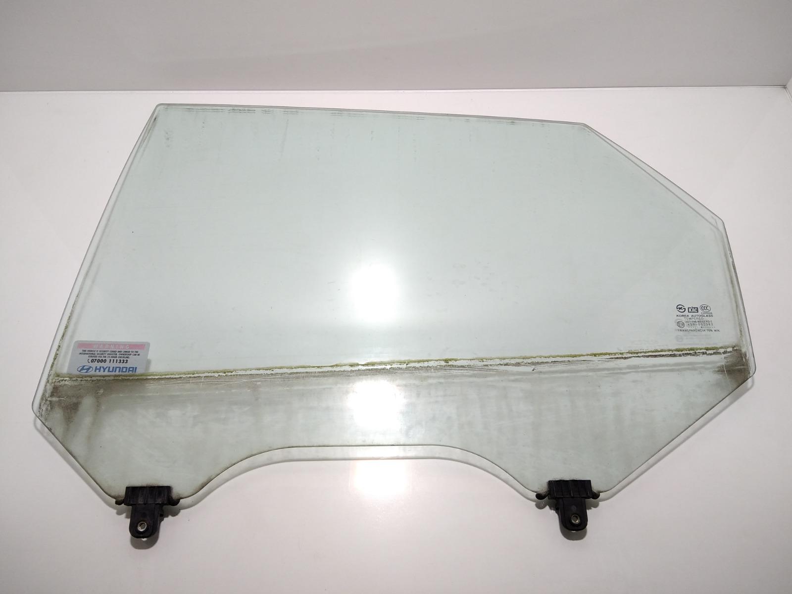 Стекло двери задней левой Hyundai Elantra XD 2.0 CRDI 2004 (б/у)