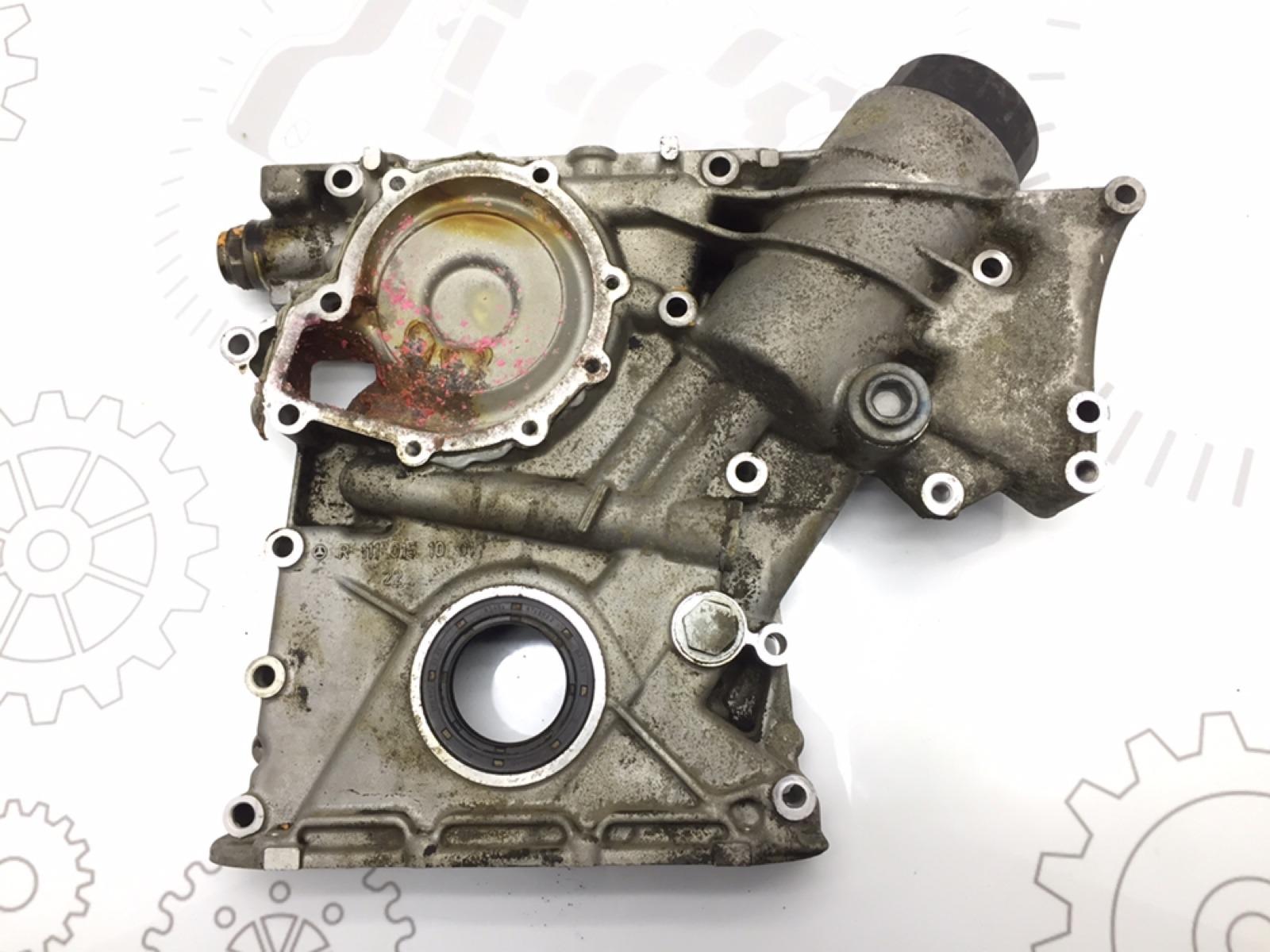 Крышка двигателя передняя Mercedes C W203 2.0 I 2001 (б/у)