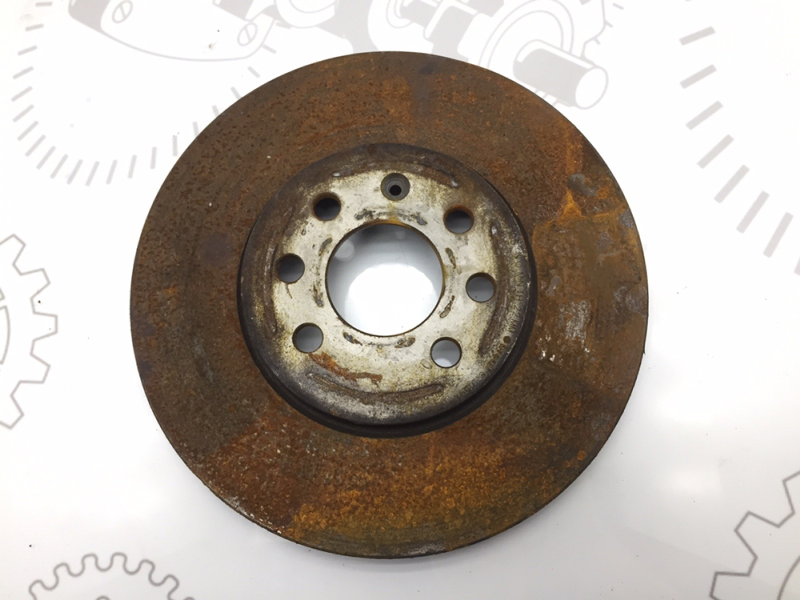 Диск тормозной передний Opel Meriva 1.6 I 2010 (б/у)