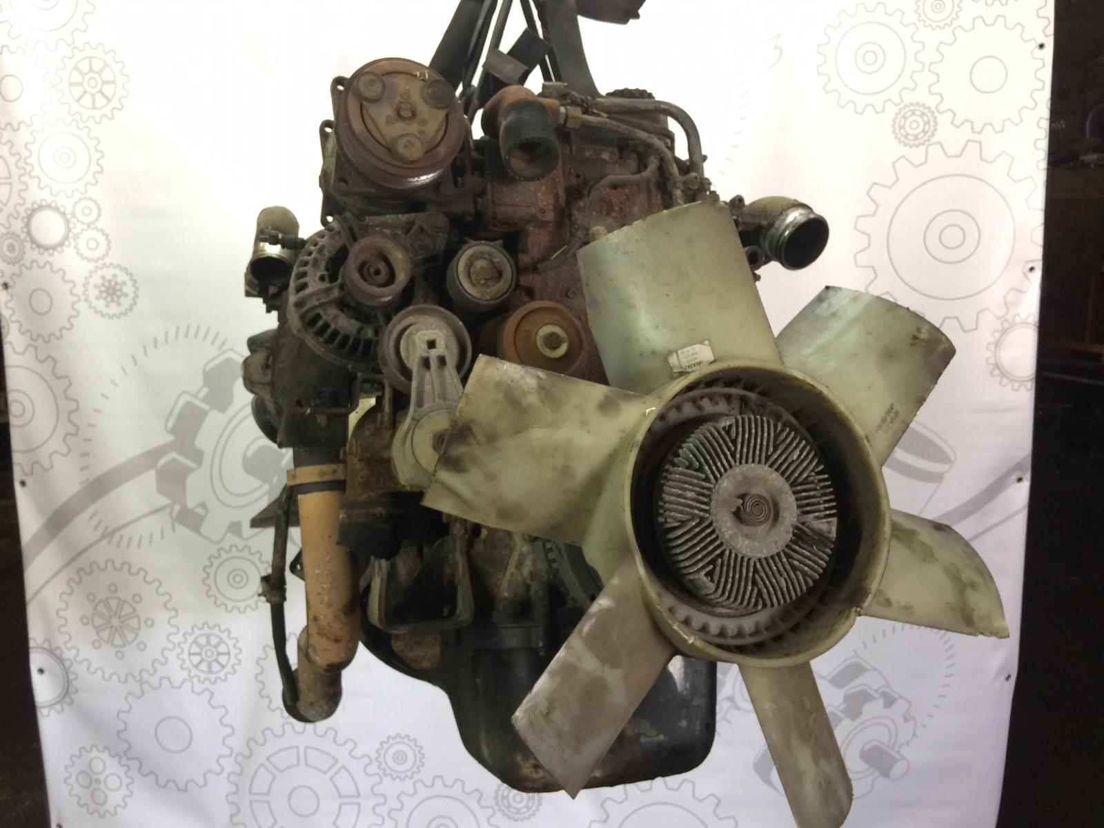 Двигатель дизельный Daf Lf 3.9 TD 2006 (б/у)
