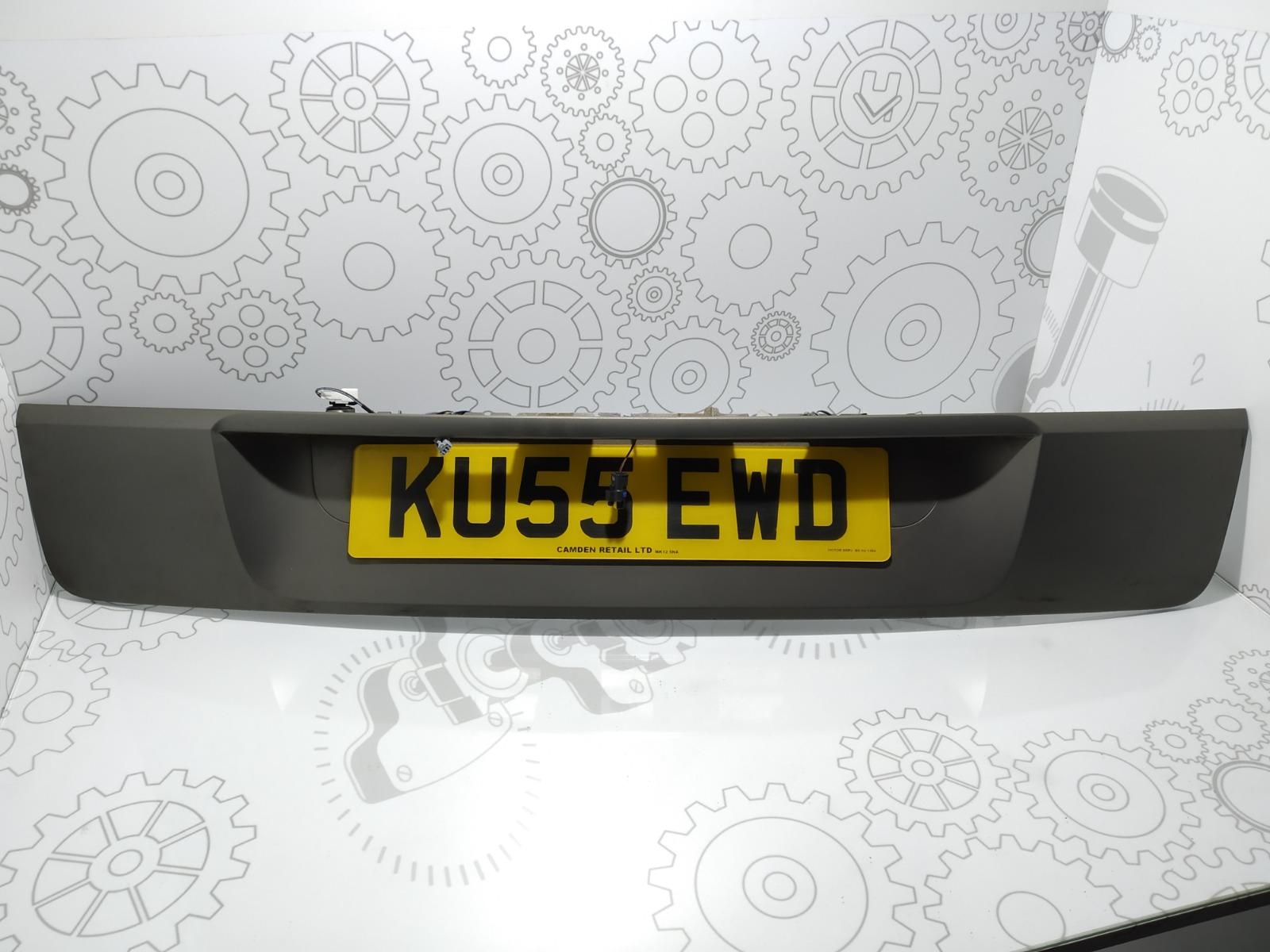 Накладка подсветки номера Renault Scenic 2.0 I 2005 (б/у)