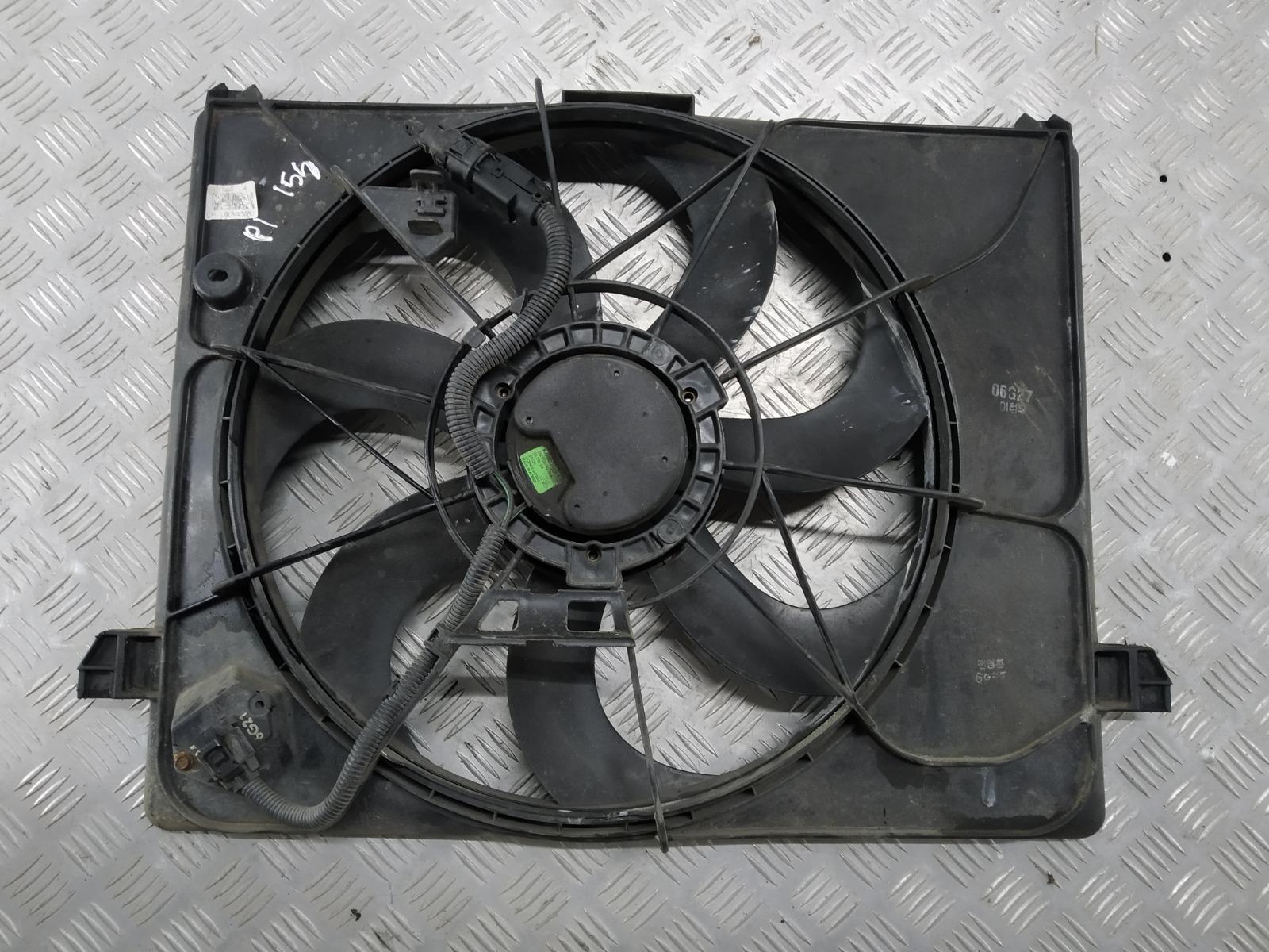 Вентилятор радиатора Kia Carens 2.0 CRDI 2006 (б/у)