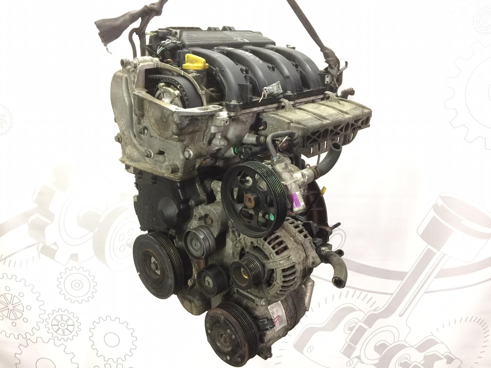 Двигатель бензиновый Renault Laguna 2.0 I 2007 (б/у)