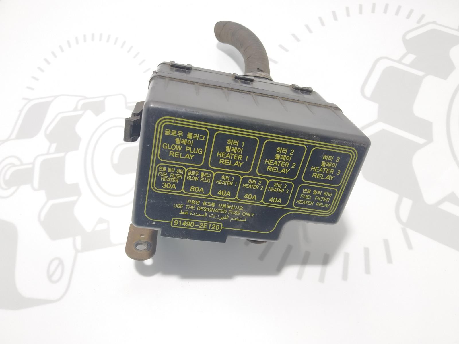 Блок предохранителей Kia Sportage 2.0 CRDI 2006 (б/у)