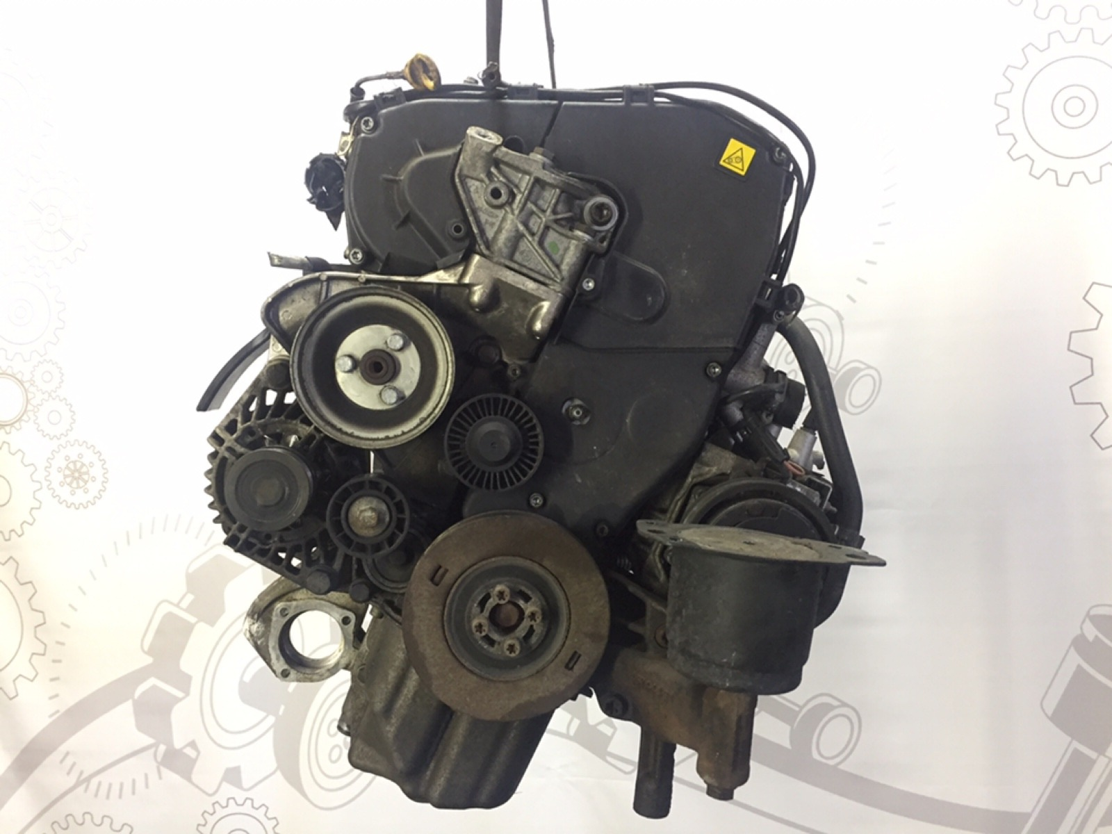 Двигатель дизельный Alfa Romeo 147 1.9 JTD 2004 (б/у)