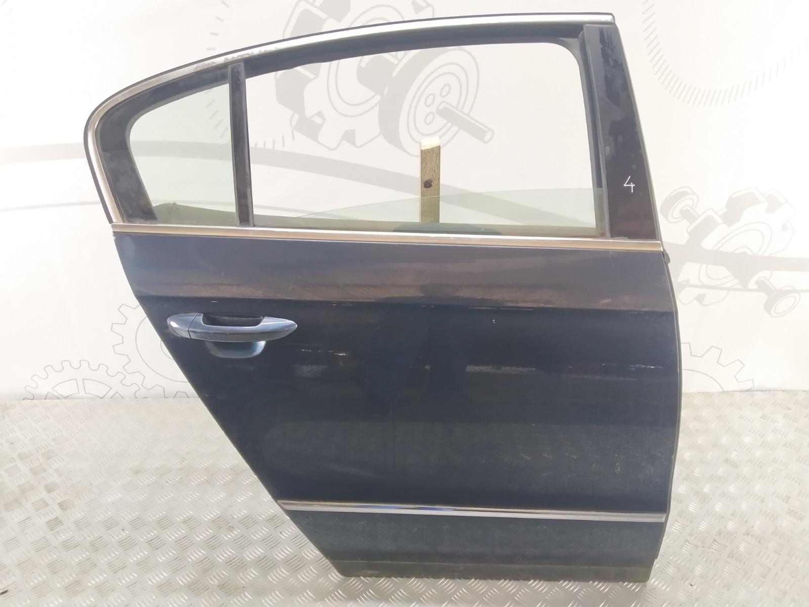 Дверь задняя правая Volkswagen Passat B6 2.0 TDI 2006 (б/у)
