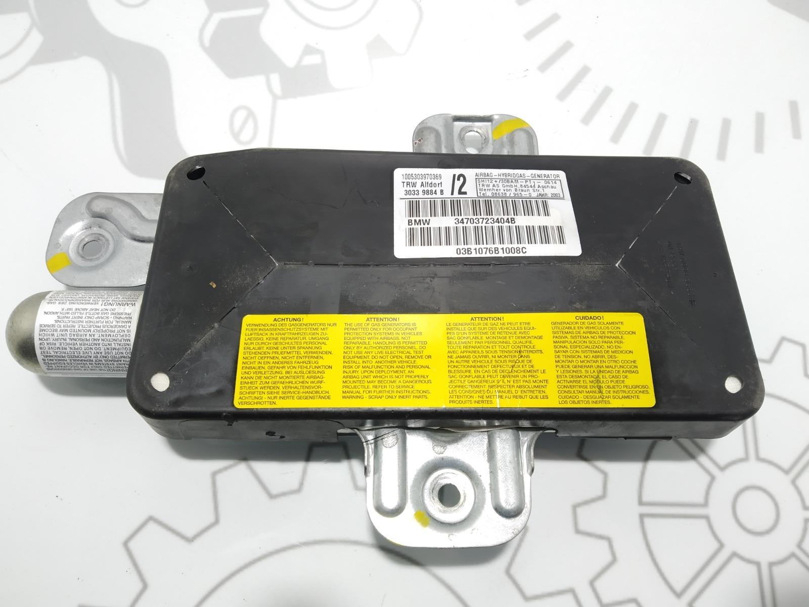 Подушка безопасности боковая (в дверь) Bmw X5 E53 3.0 I 2003 (б/у)
