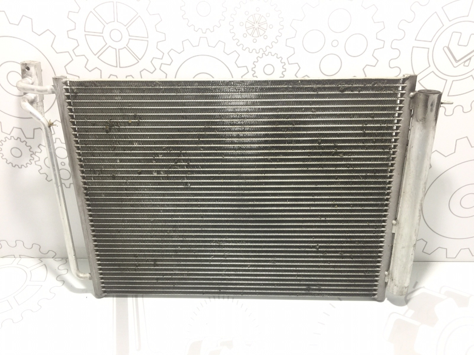 Радиатор кондиционера Bmw X5 E53 3.0 I 2003 (б/у)