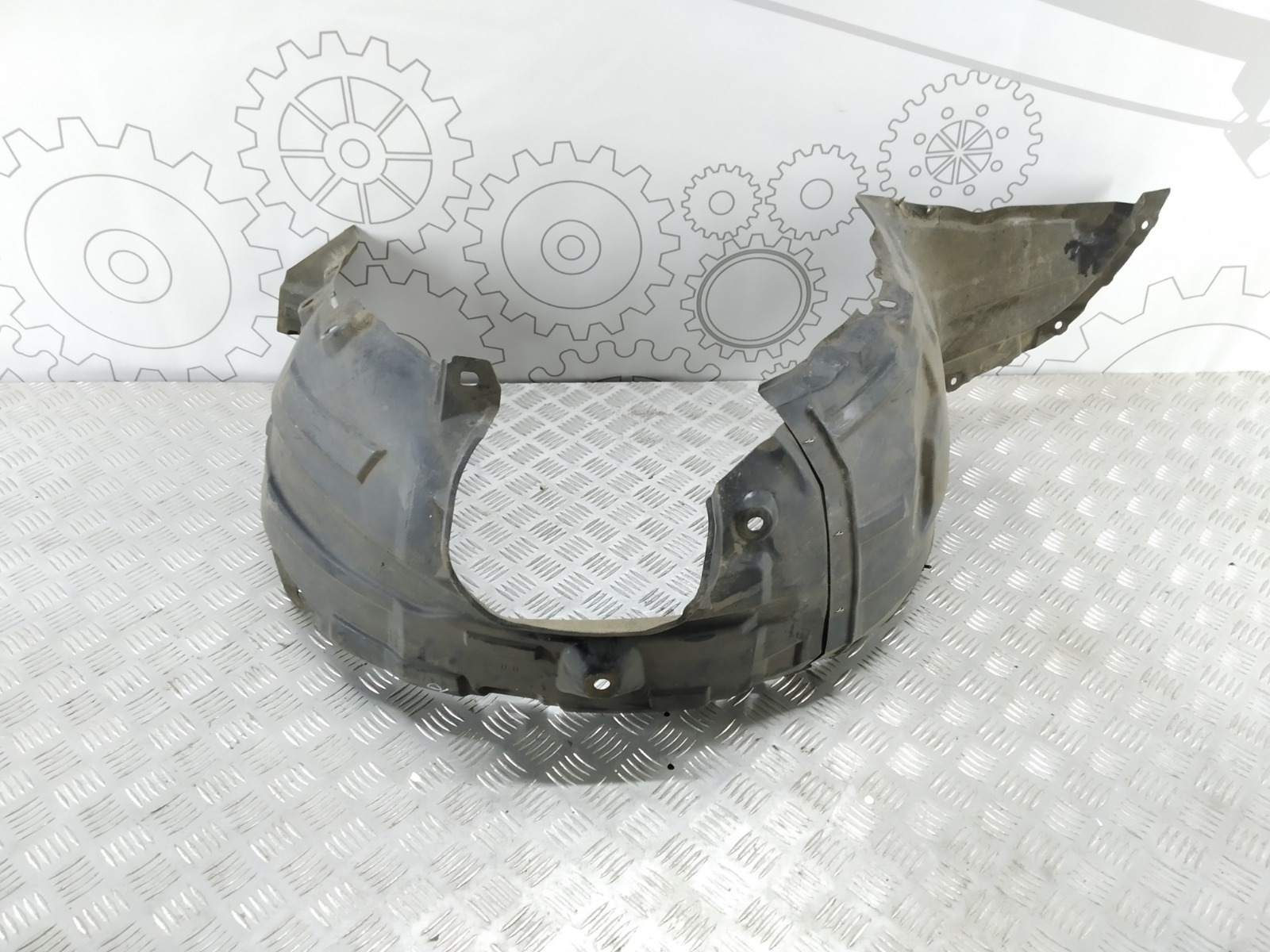 Защита арок передняя правая (подкрылок) Mazda 3 BK 2.0 I 2004 (б/у)