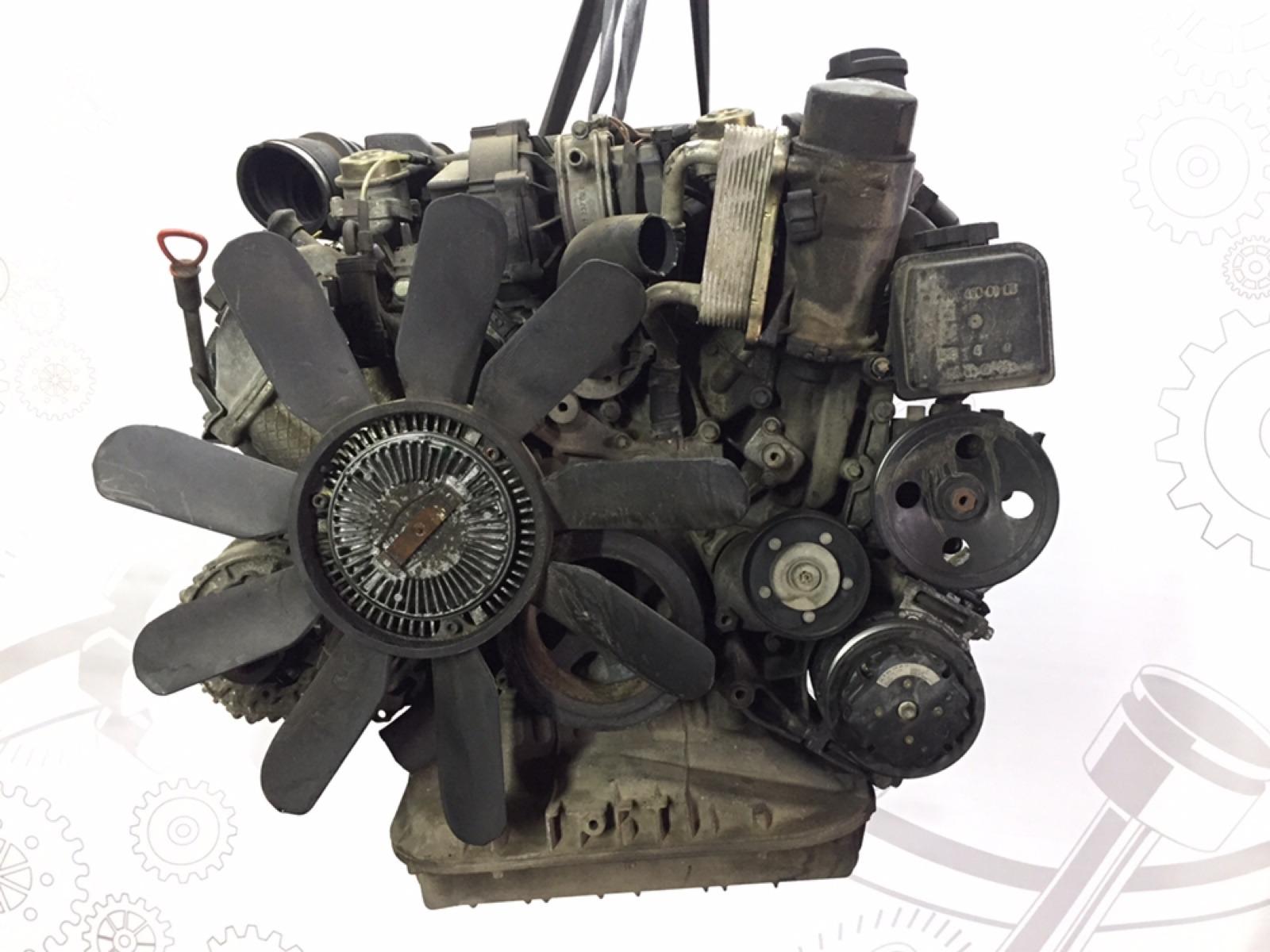 Двигатель бензиновый Mercedes Ml W163 3.2 I 2001 (б/у)