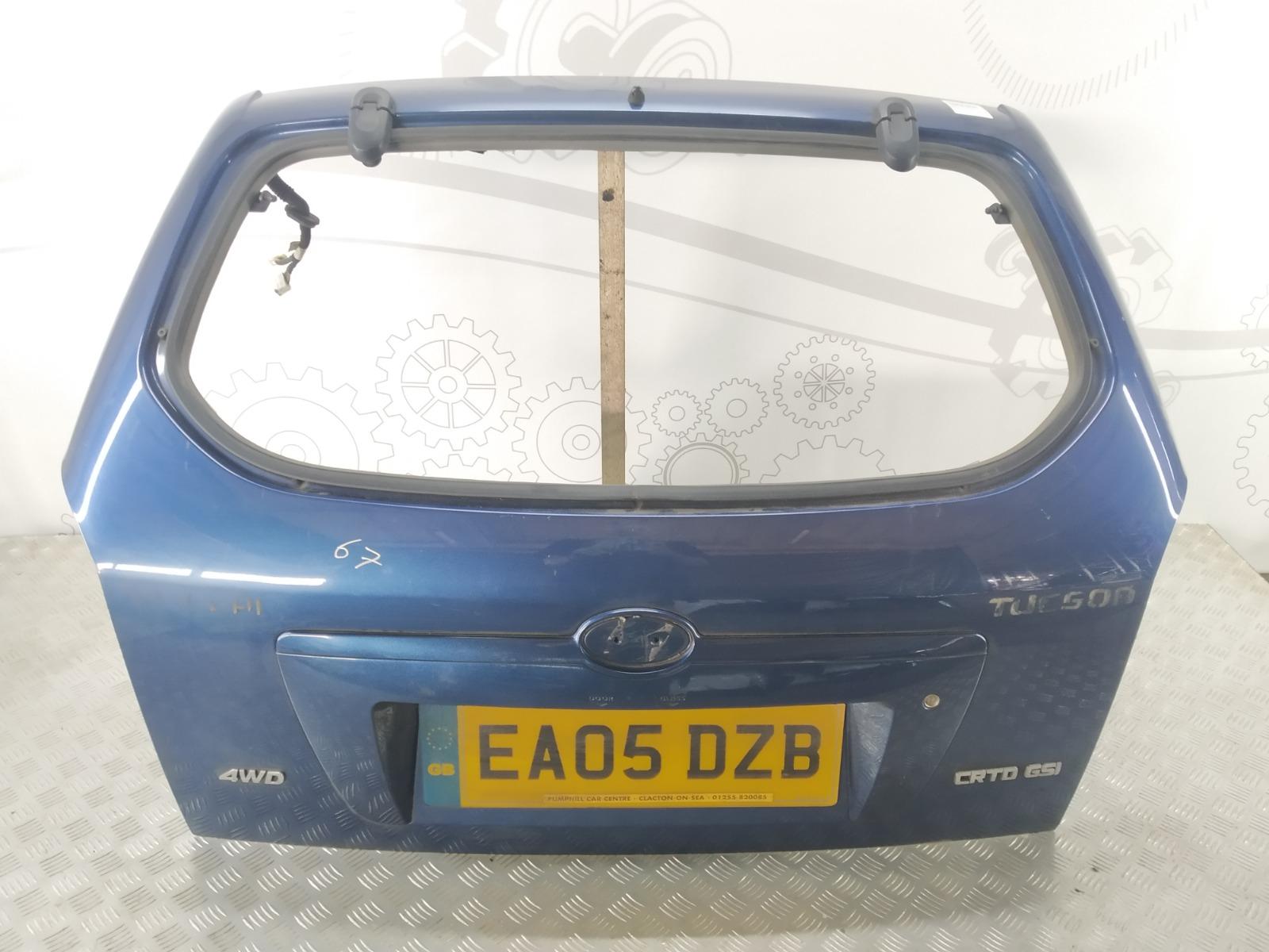 Крышка багажника (дверь 3-5) Hyundai Tucson 2.0 CRDI 2005 (б/у)