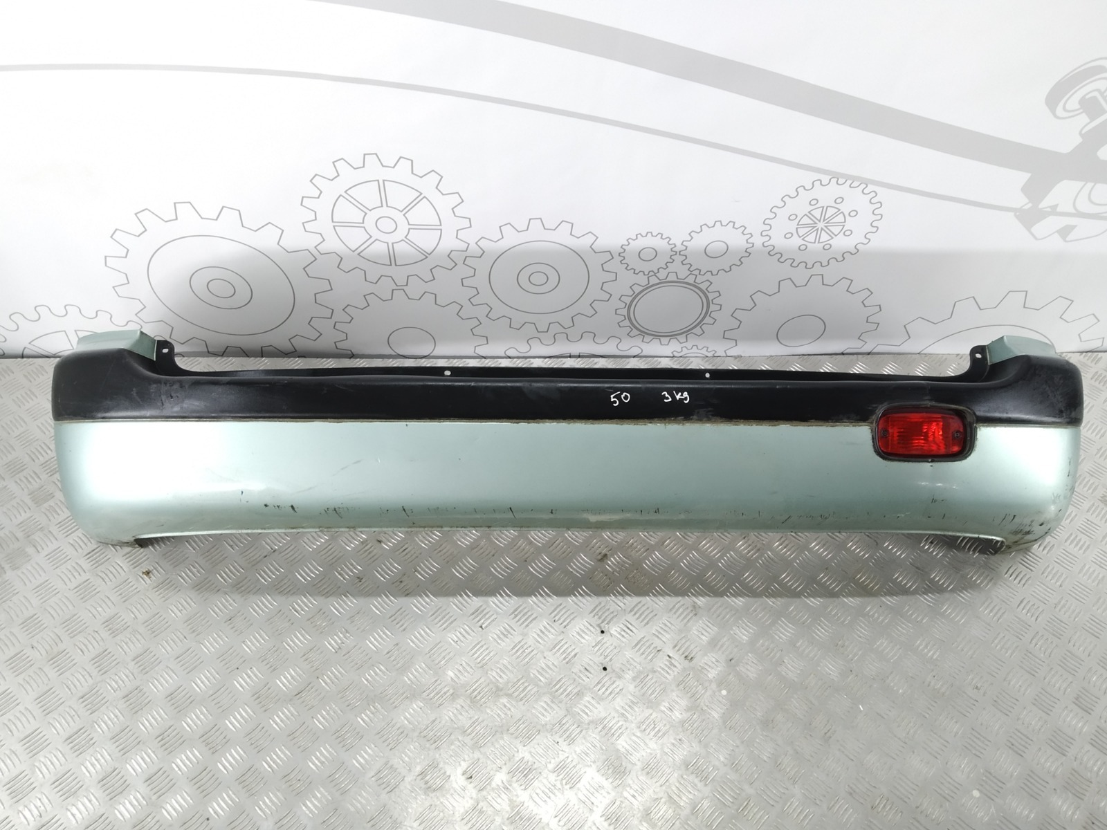 Бампер задний Hyundai Matrix 1.6 I 2004 (б/у)