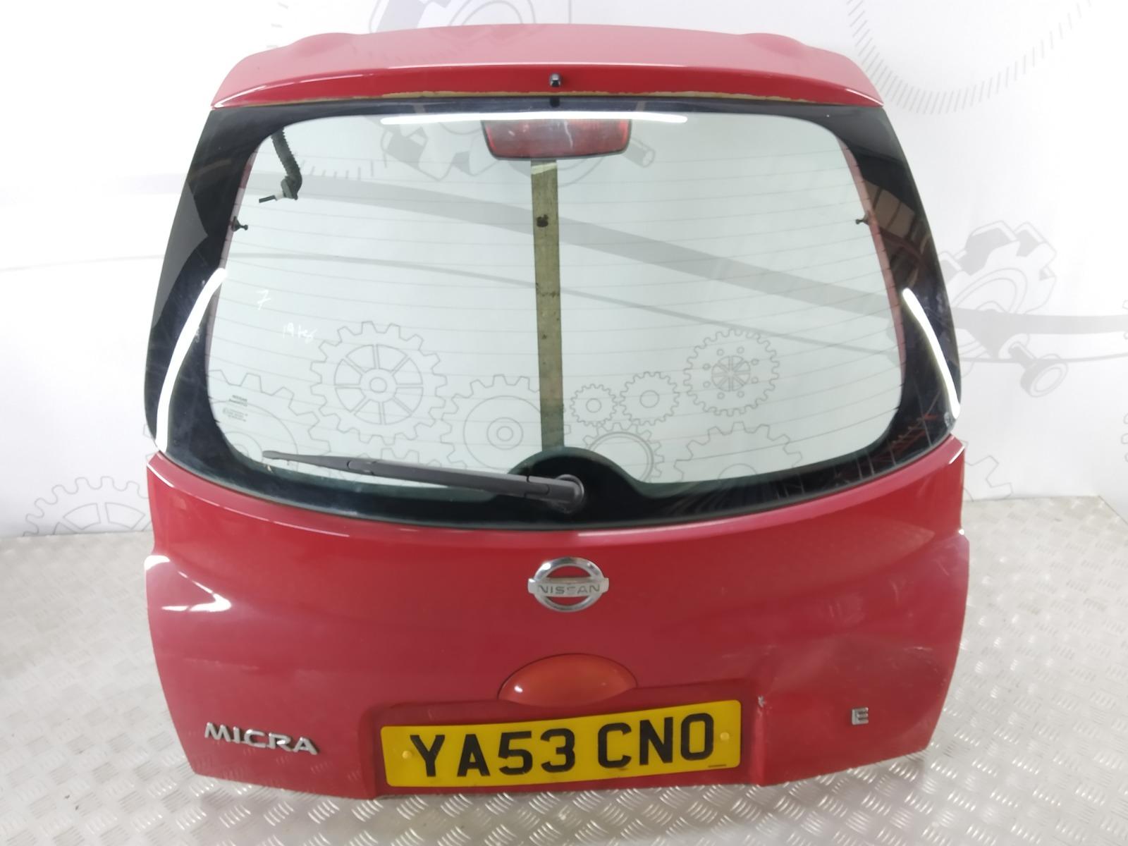 Крышка багажника (дверь 3-5) Nissan Micra K12 1.0 I 2003 (б/у)