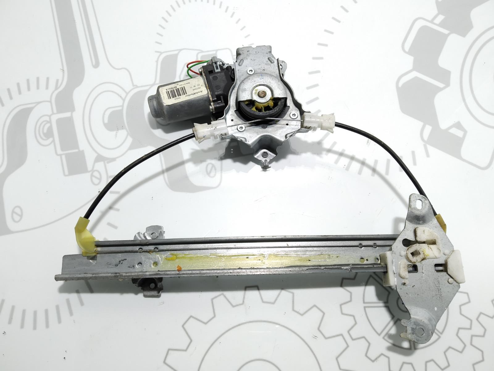 Стеклоподъемник электрический задний правый Nissan Qashqai 1.5 DCI 2007 (б/у)