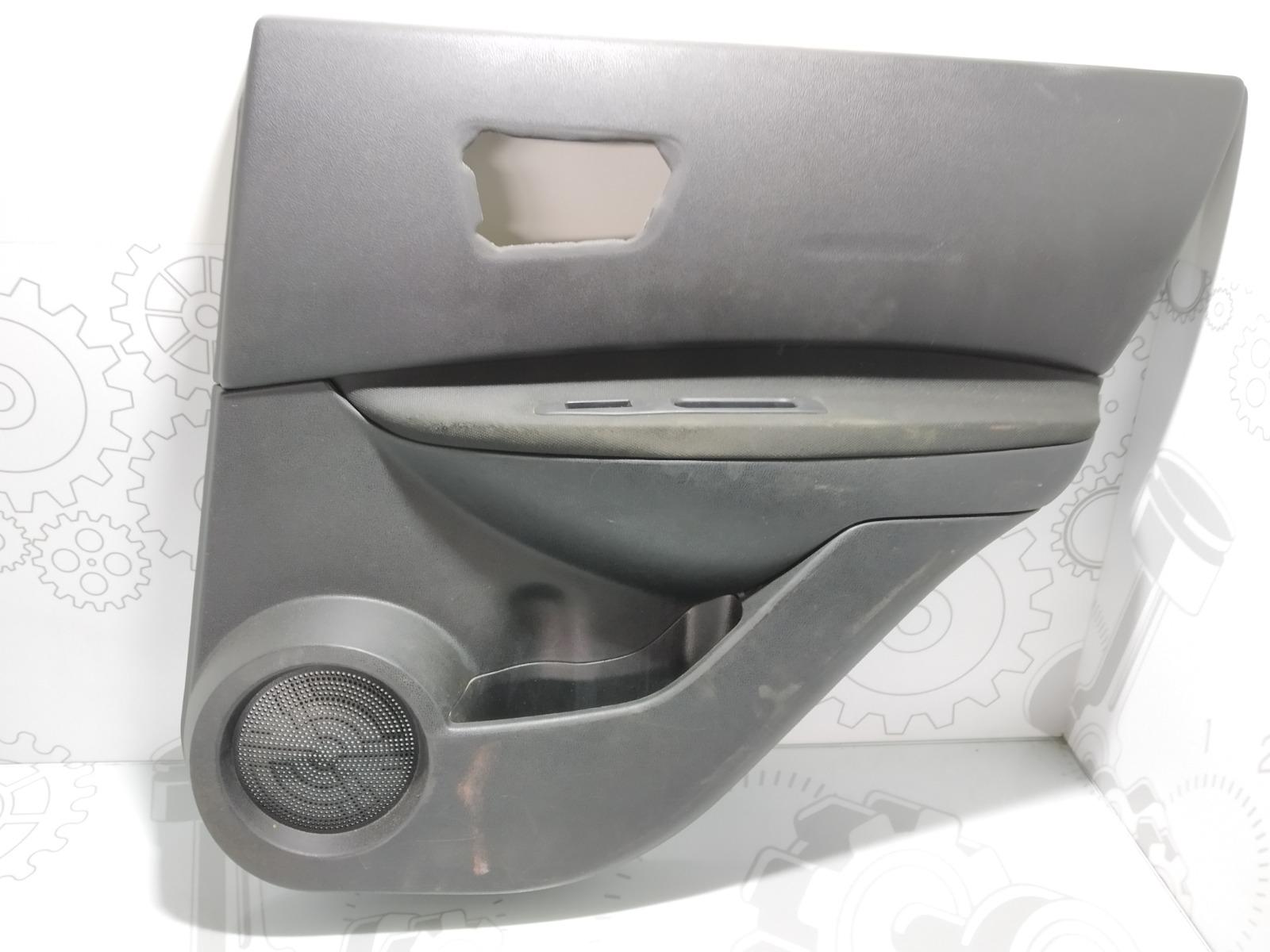 Обшивка двери задней правой (дверная карта) Nissan Qashqai 1.5 DCI 2007 (б/у)