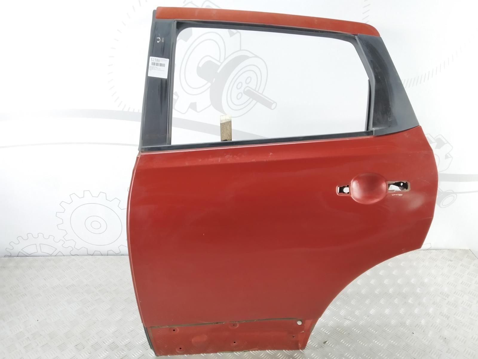 Дверь задняя левая Nissan Qashqai 1.5 DCI 2007 (б/у)