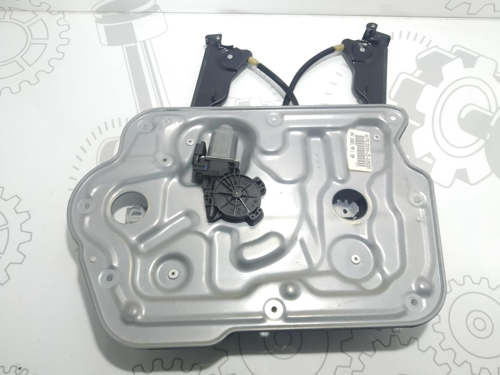 Стеклоподъемник электрический передний правый Nissan Qashqai 1.5 DCI 2007 (б/у)
