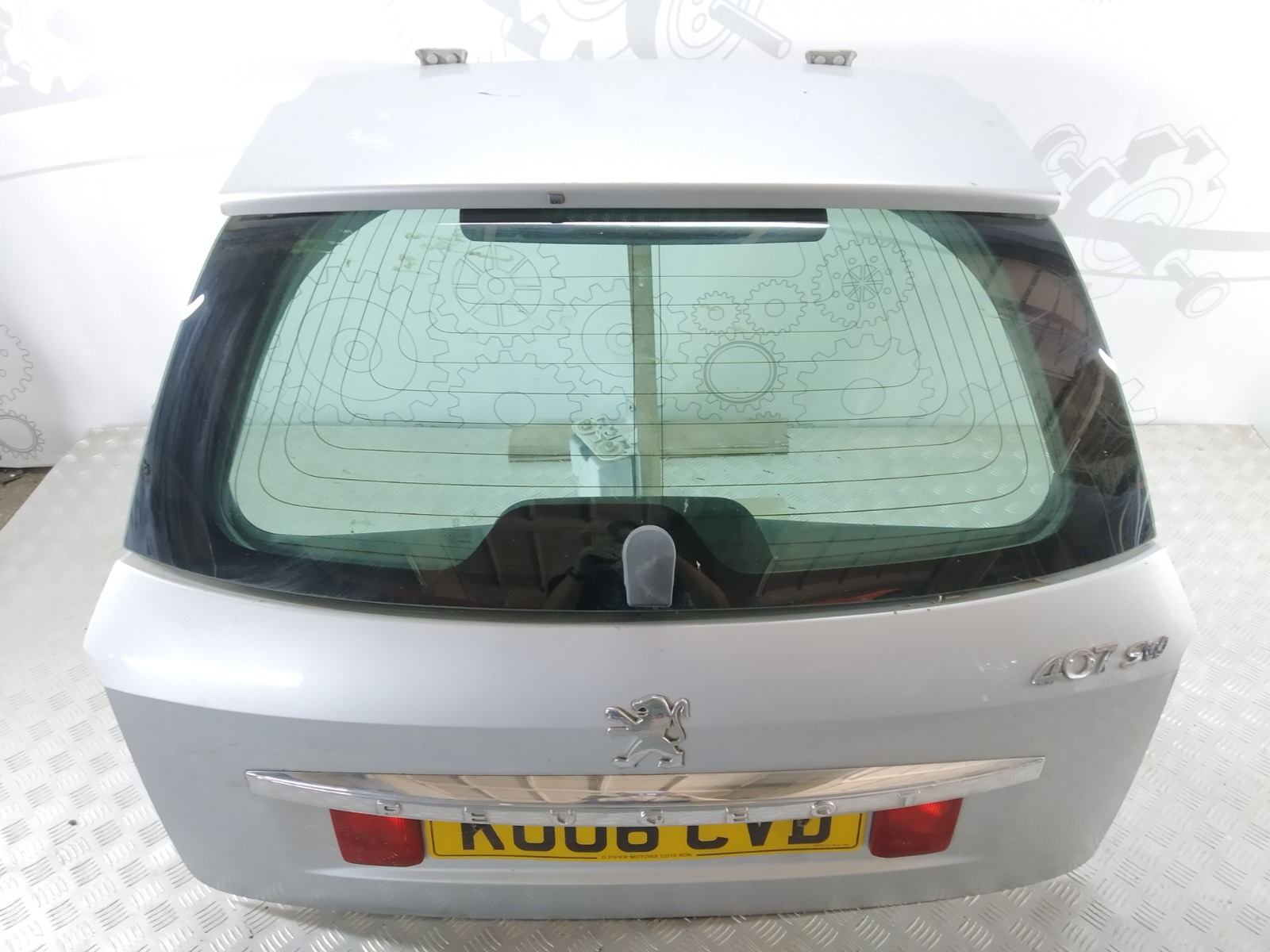 Крышка багажника (дверь 3-5) Peugeot 407 1.6 HDI 2006 (б/у)