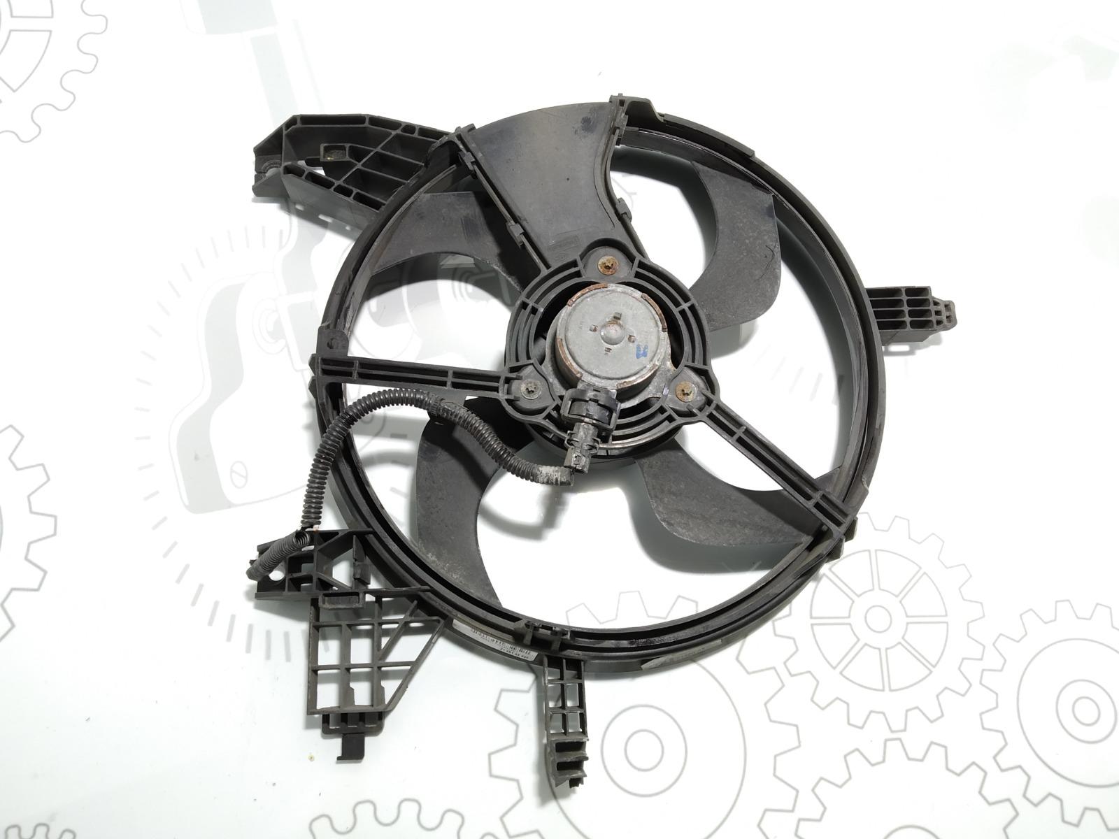 Вентилятор радиатора Nissan Micra K12 1.0 I 2003 (б/у)