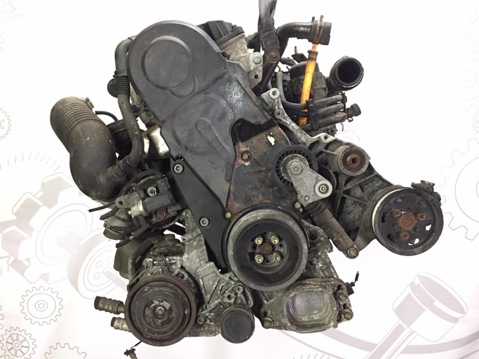 Двигатель дизельный Skoda Superb 1.9 TDI 2004 (б/у)