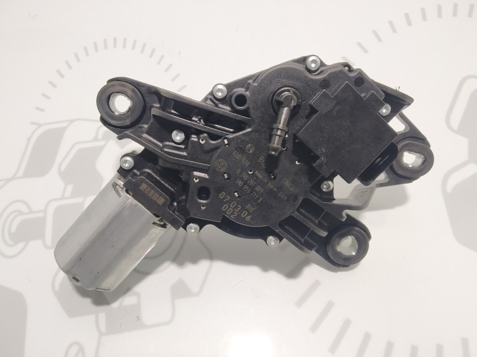 Моторчик заднего стеклоочистителя (дворника) Volkswagen Golf Plus 1.9 TDI 2007 (б/у)