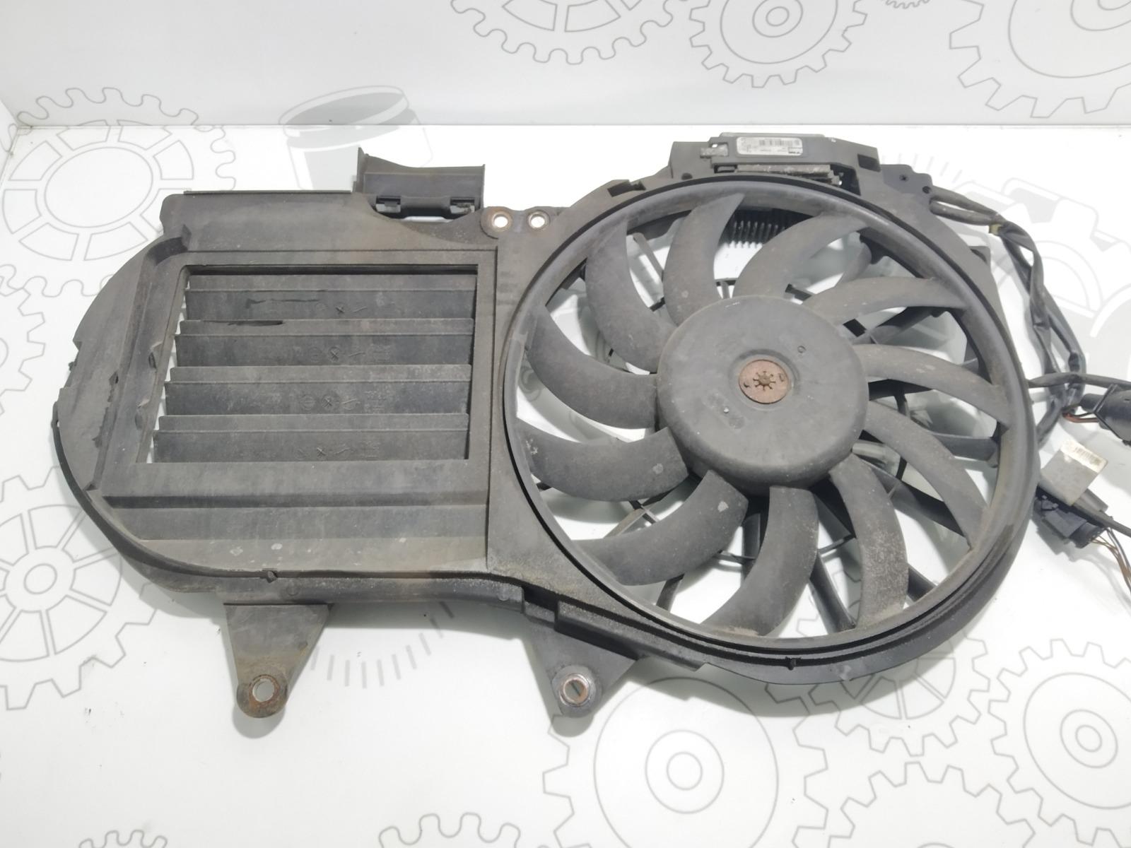 Вентилятор радиатора Audi A4 B6 1.9 TDI 2004 (б/у)