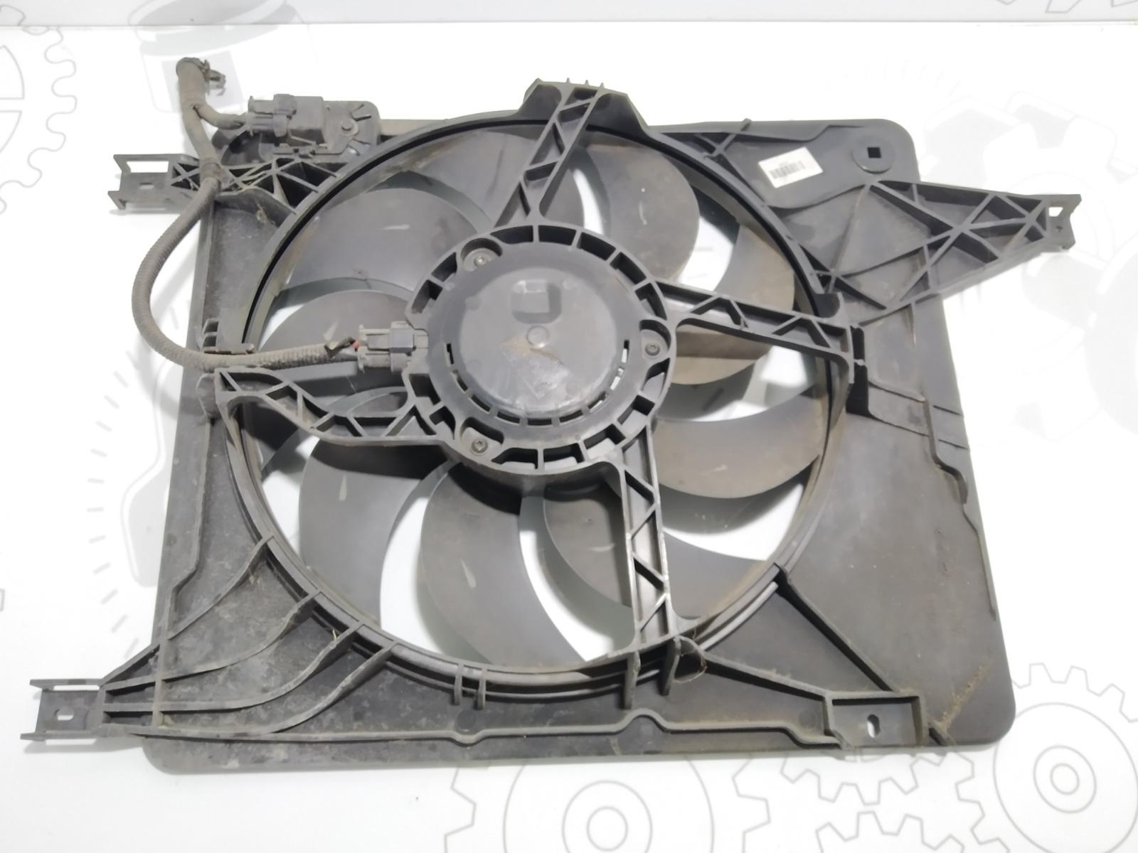 Вентилятор радиатора Nissan Qashqai 1.5 DCI 2007 (б/у)