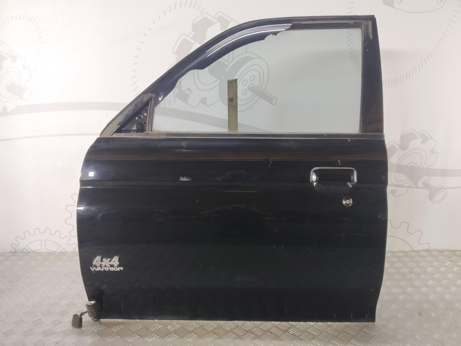 Дверь передняя левая Mitsubishi Pajero Sport 2.5 TD 2003 (б/у)