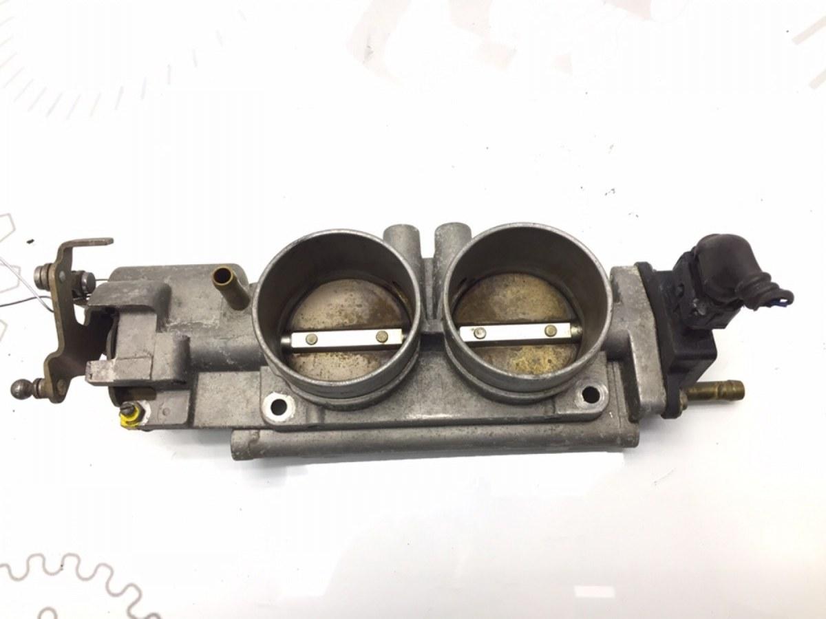 Заслонка дроссельная Opel Omega B 2.5 I 1999 (б/у)