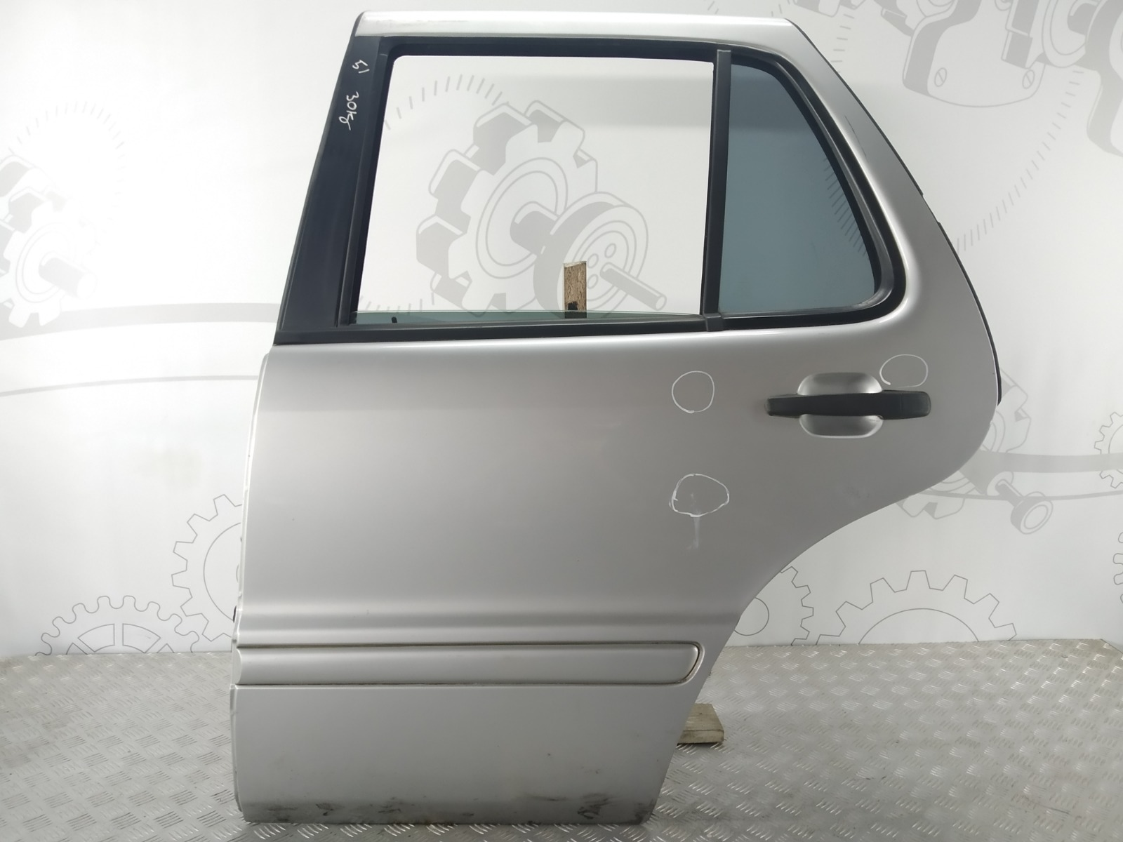 Дверь задняя левая Mercedes Ml W163 3.2 I 2001 (б/у)