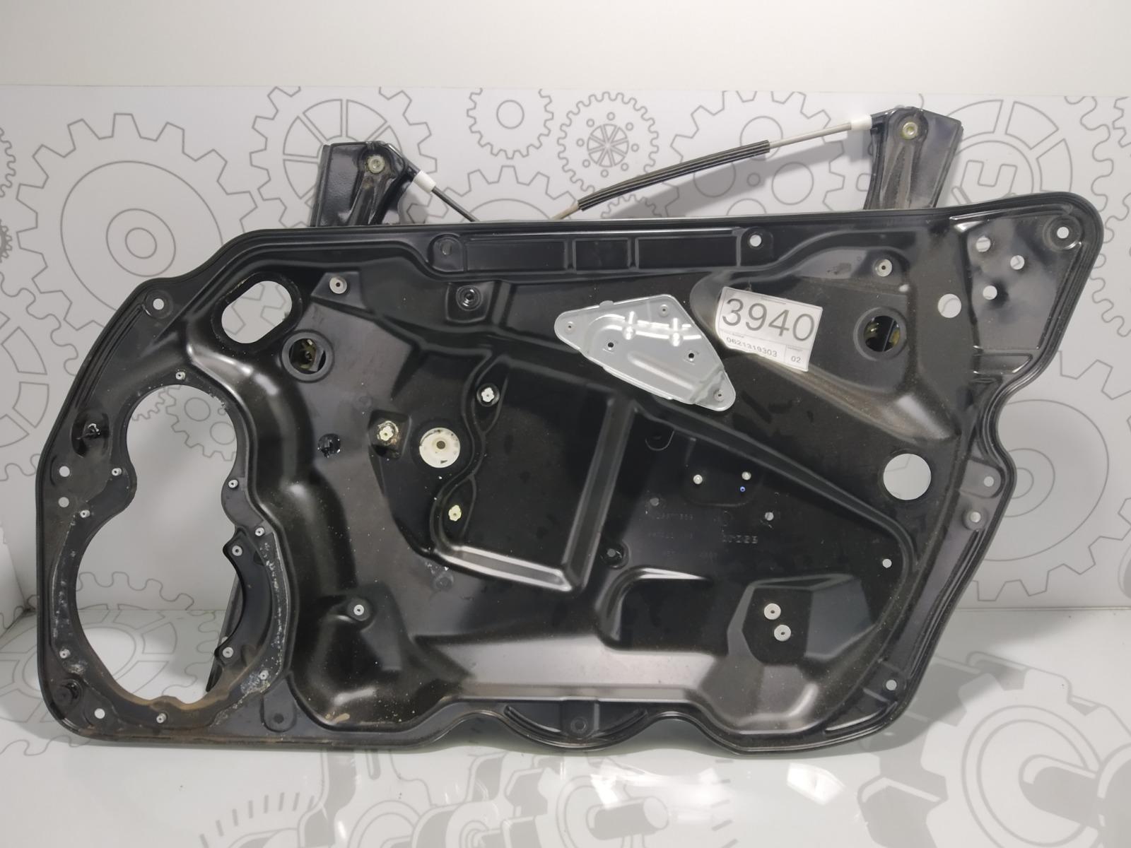 Стеклоподъемник электрический передний правый Volkswagen Passat B6 2.0 TDI 2006 (б/у)