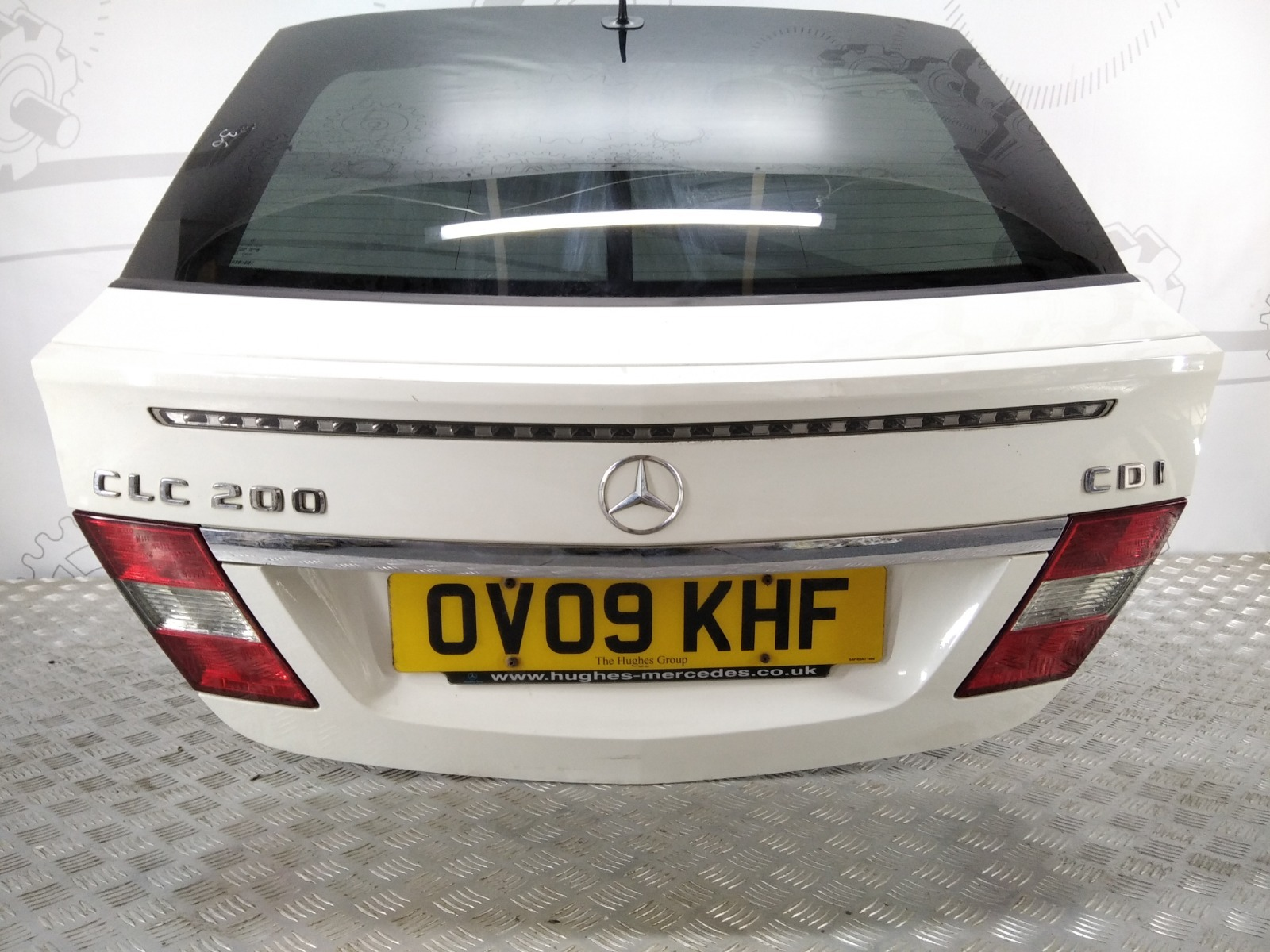 Крышка багажника (дверь 3-5) Mercedes Clc CL203 2.2 CDI 2009 (б/у)