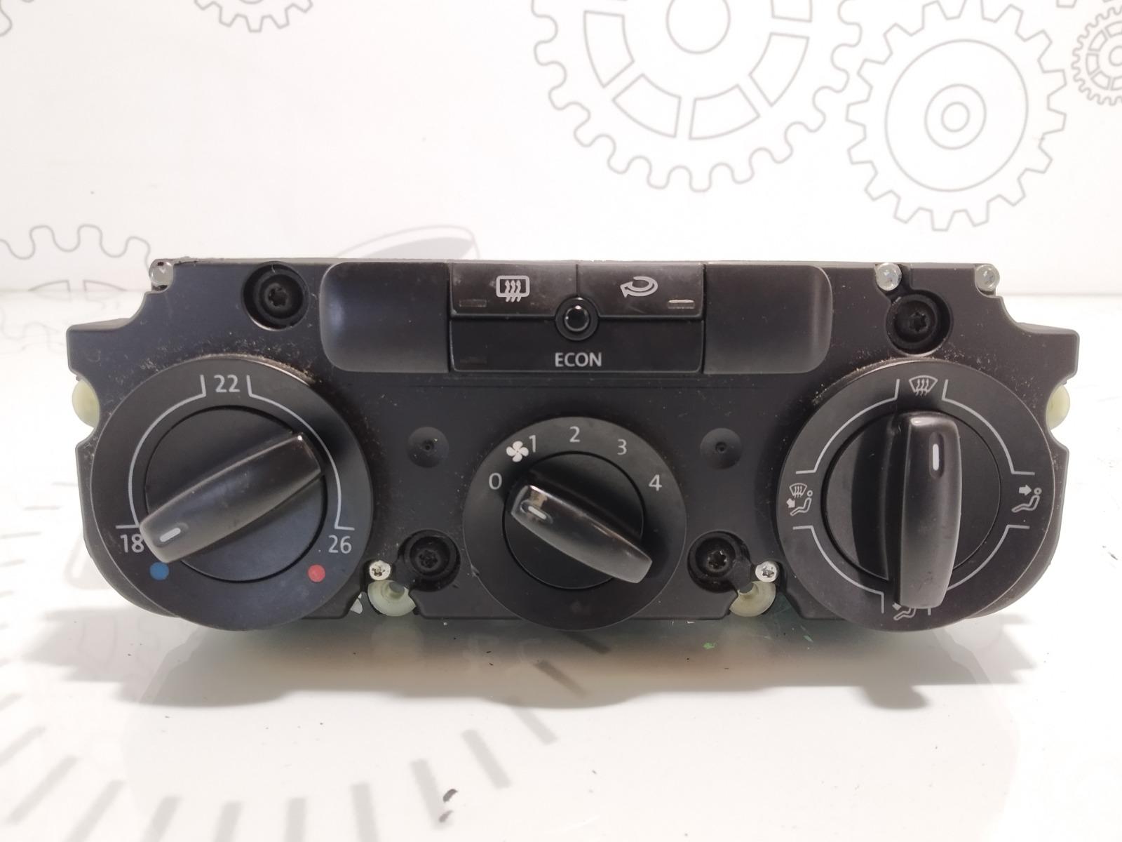 Блок управления печки/климат-контроля Volkswagen Touran 1.6 FSI 2003 (б/у)