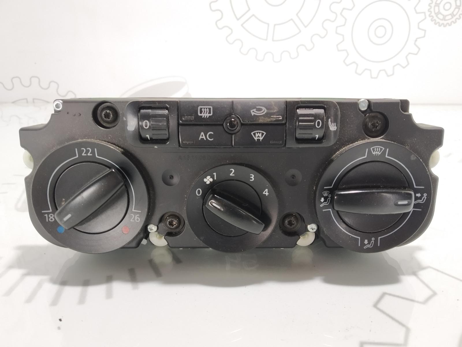 Блок управления печки/климат-контроля Volkswagen Passat B6 2.0 TDI 2009 (б/у)