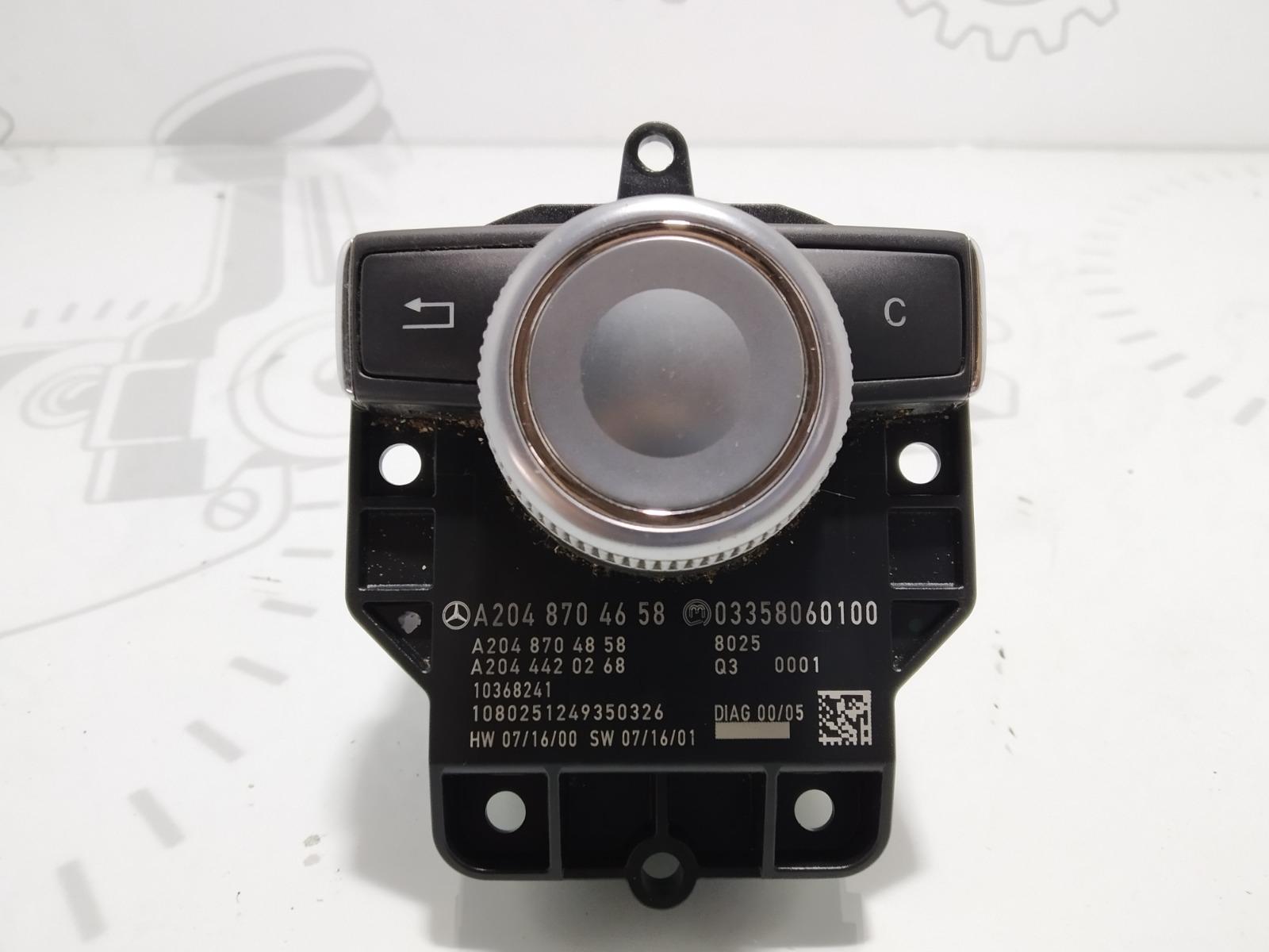 Джойстик управления мультимедиа Mercedes C W204 2.2 CDI 2008 (б/у)