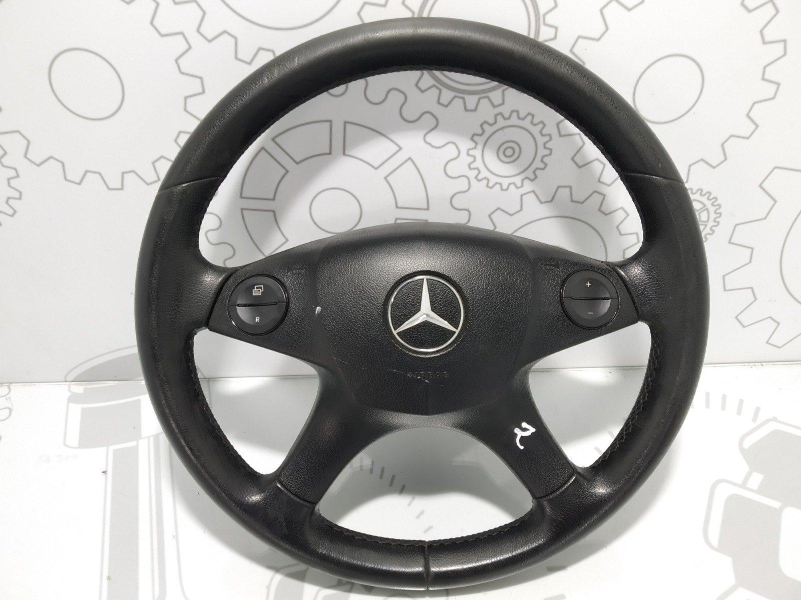 Руль Mercedes C W204 2.2 CDI 2008 (б/у)