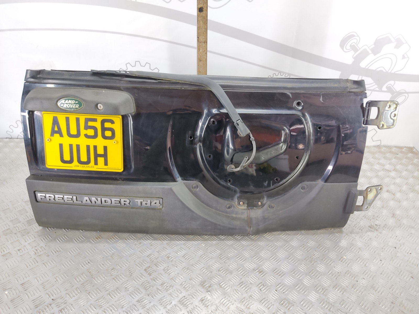 Крышка багажника (дверь 3-5) Land Rover Freelander 2.0 TD 2006 (б/у)