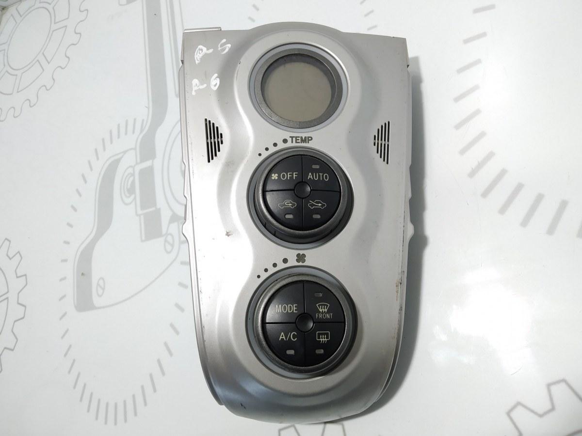 Блок управления печки/климат-контроля Toyota Yaris XP9 1.4 D-4D 2006 (б/у)