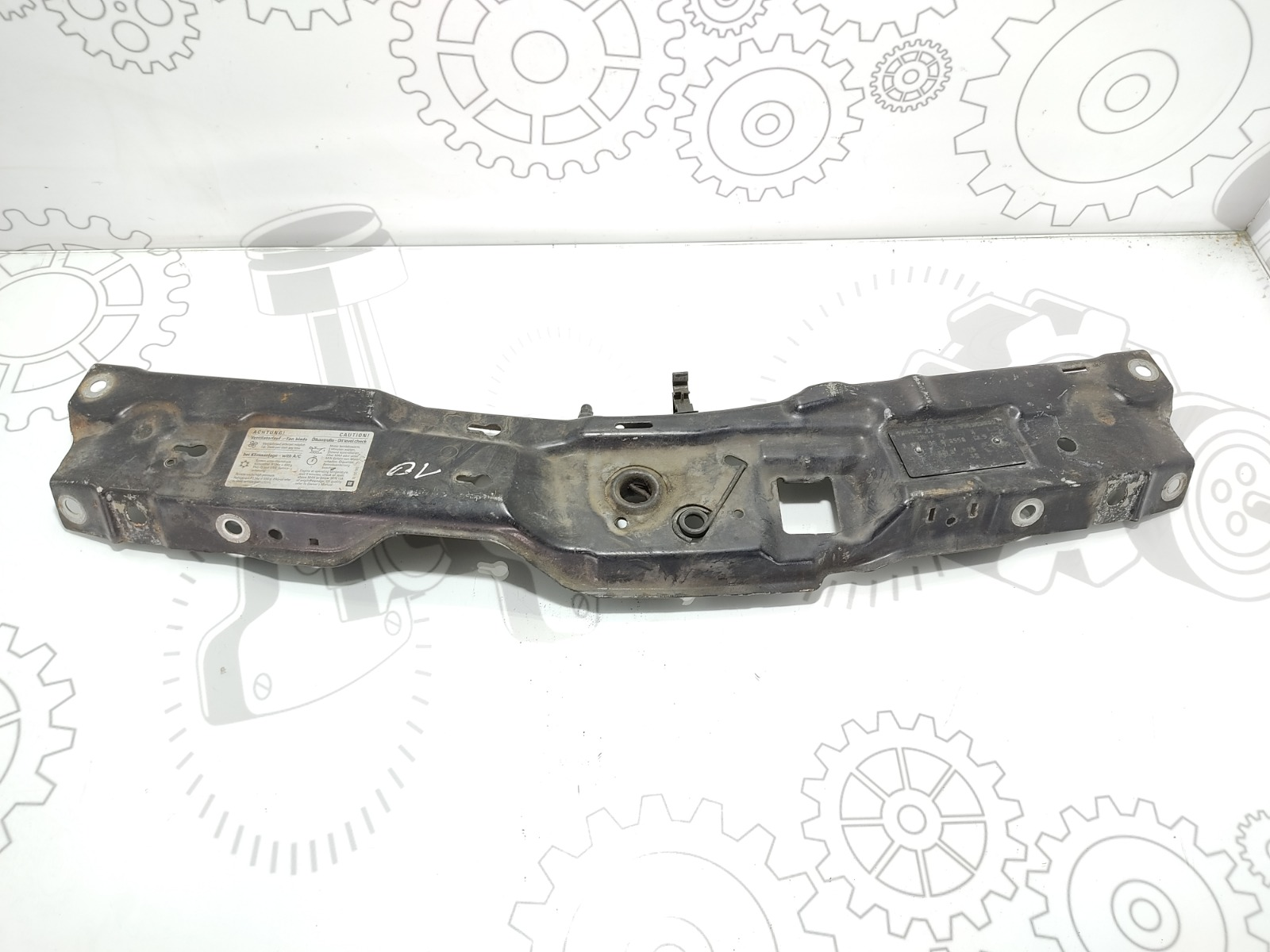 Планка под капот Opel Meriva 1.4 I 2005 (б/у)