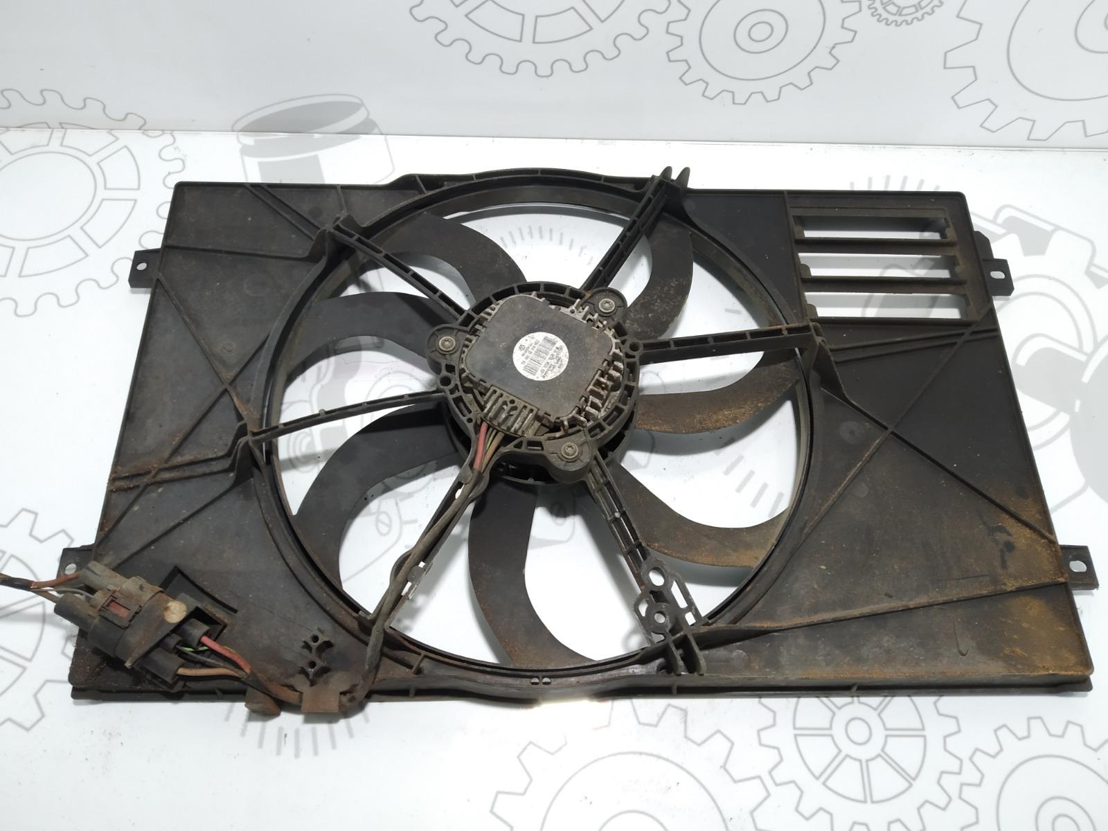 Вентилятор радиатора Seat Altea 1.9 TDI 2008 (б/у)