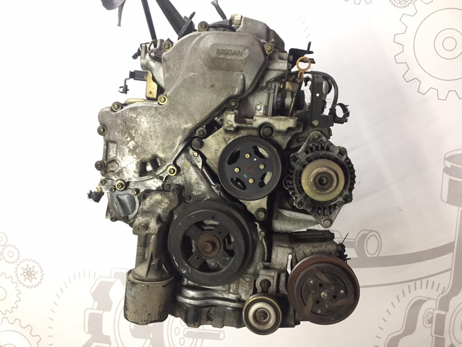 Двигатель дизельный Nissan Primera 2.2 DCI 2003 (б/у)