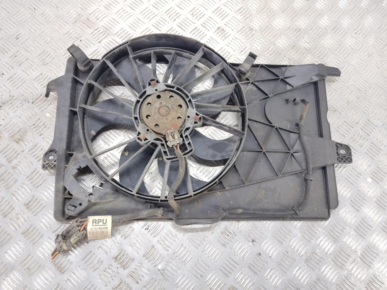 Вентилятор радиатора Opel Meriva 1.4 I 2005 (б/у)