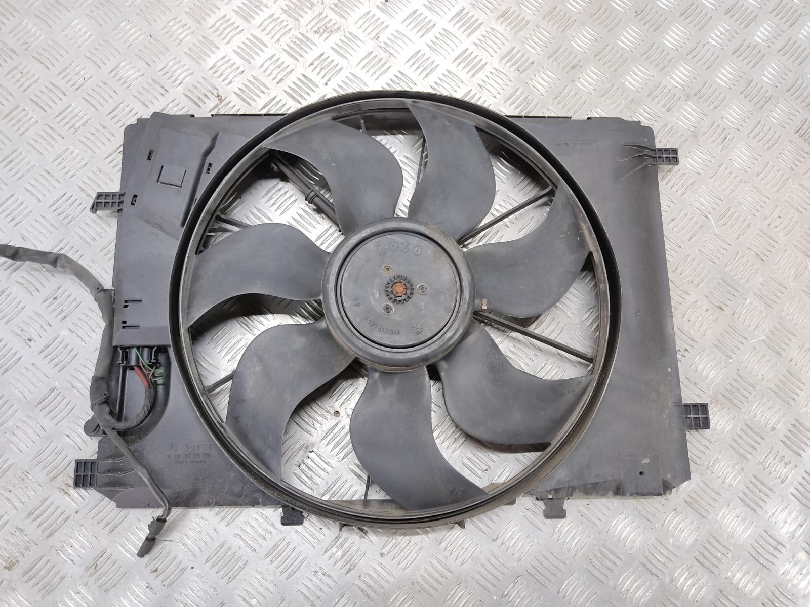 Вентилятор радиатора Mercedes C W204 2.2 CDI 2008 (б/у)