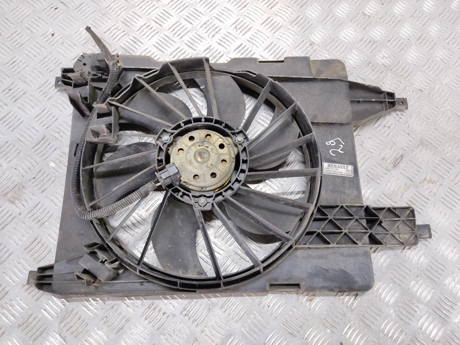 Вентилятор радиатора Renault Megane 1.6 I 2005 (б/у)