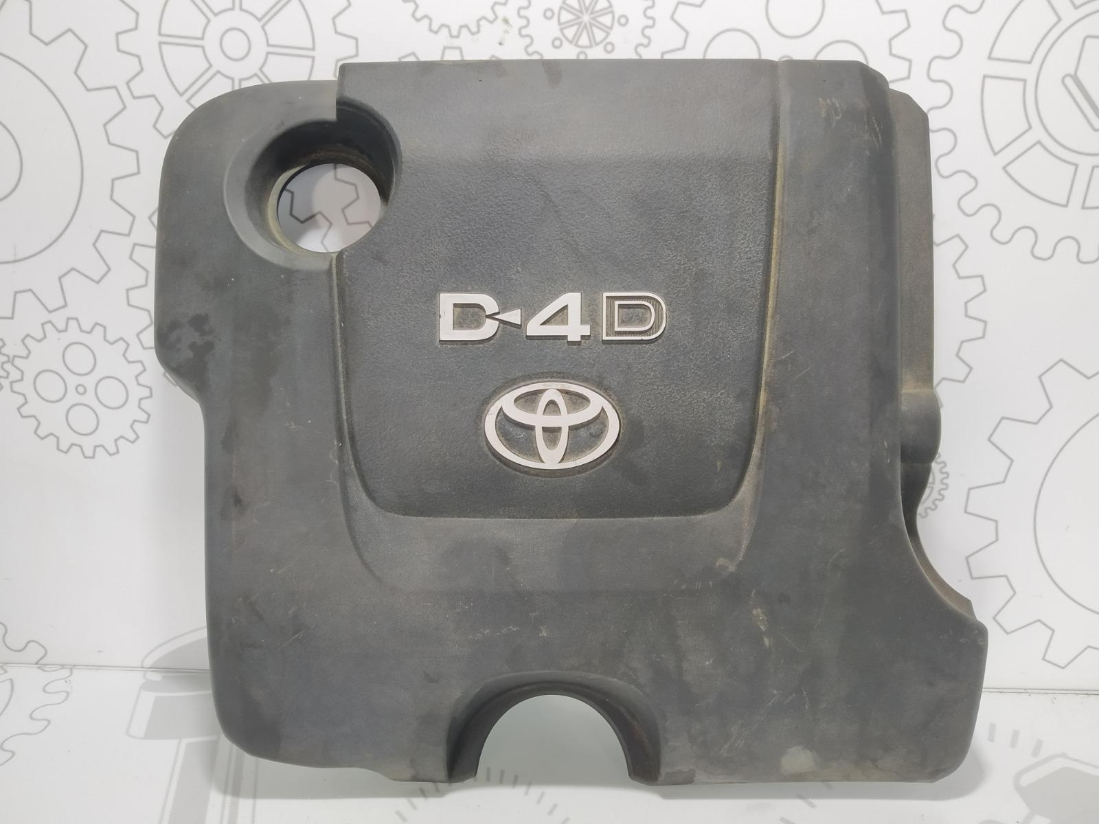 Декоративная крышка двигателя Toyota Yaris XP9 1.4 D-4D 2006 (б/у)