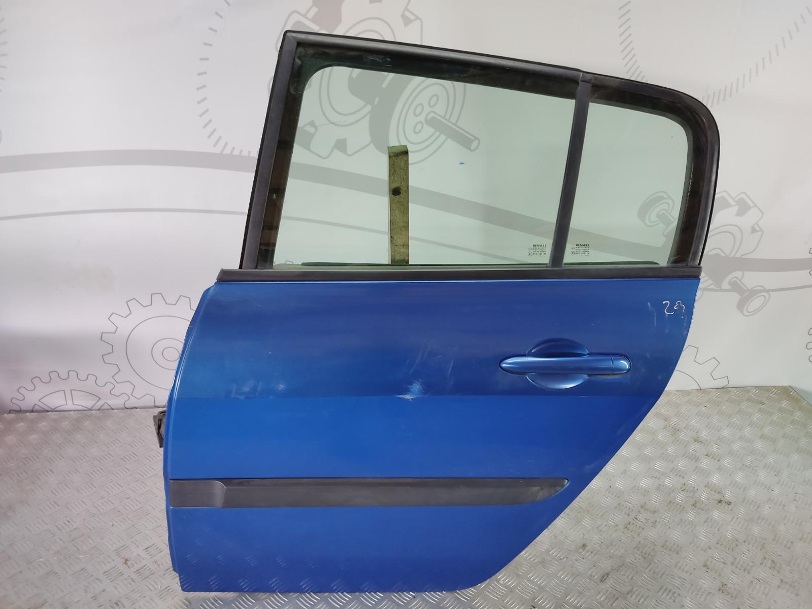 Дверь задняя левая Renault Megane 1.6 I 2005 (б/у)