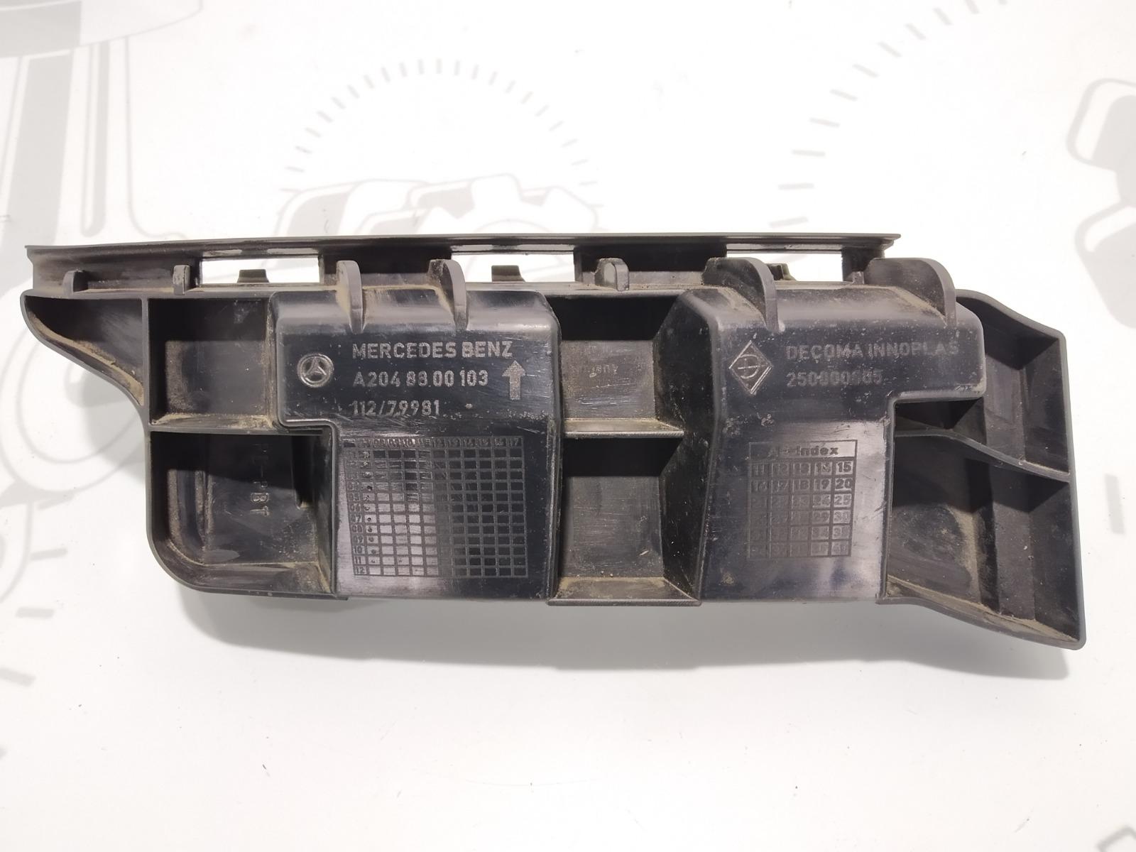 Кронштейн крепления бампера заднего Mercedes C W204 2.2 CDI 2008 (б/у)
