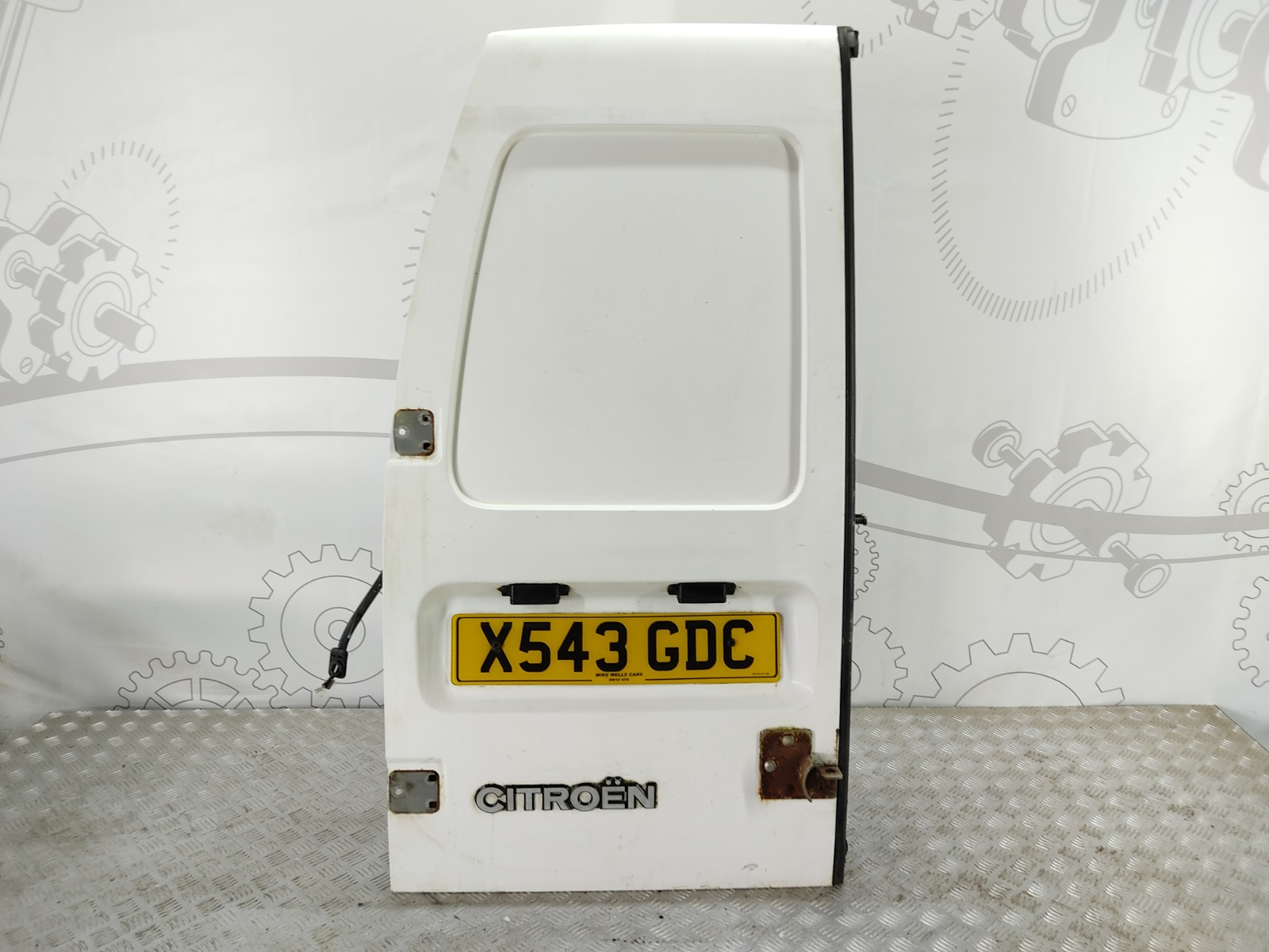 Дверь задняя распашная левая Citroen Jumpy 1.9 TD 2000 (б/у)